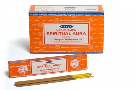 Spiritual Aura - Satya Incense Sticks