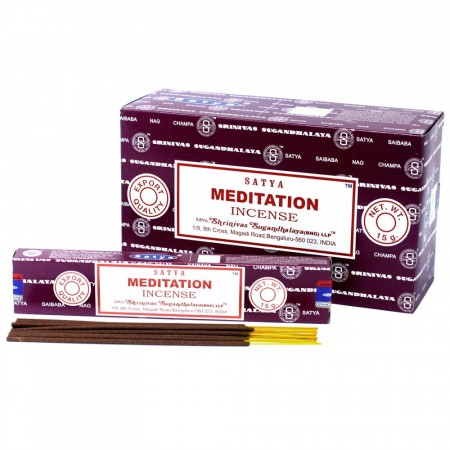 Meditation -Satya Incense Sticks