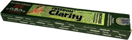 Clarity Fresh Lime Fragrance Freedom Incense Sticks