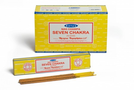 Seven Chakra - Satya Incense Sticks