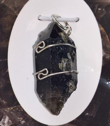 Tibetian Black Quartz smykker